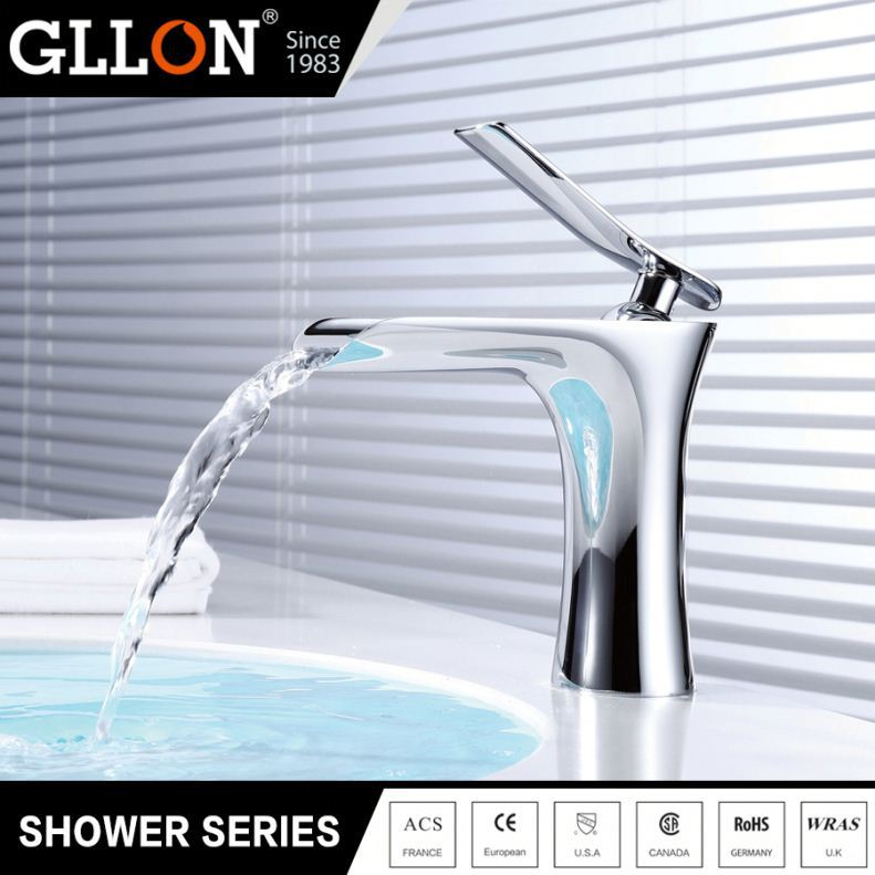 Top supplier cheap price hot morden waterfall sanitary fittings and bathroom accessories