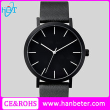 Wholeasale cheap custom design own logo oem watch with genuine leather