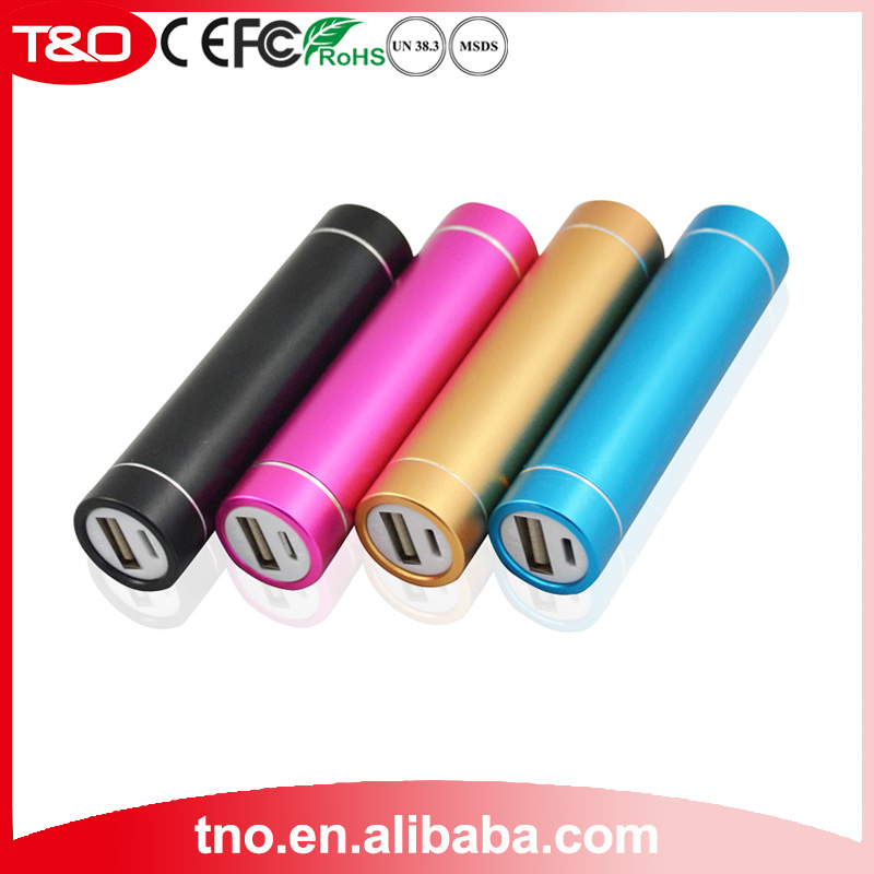 Portable promotion gift power bank 2600mah for Huawei