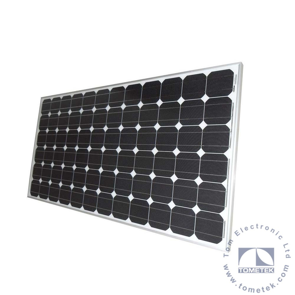 300W Mono Crystalline Photovoltaic PV Solar Panel kit for commercial roof tiles panels at best price per watt
