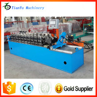 Galvanized Sheet Material Light Steel Roof Truss Roll Forming Machine For Roof Ceiling BattenFurring Channel