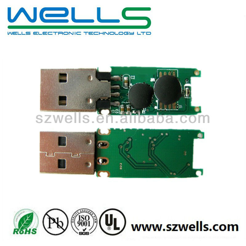 China circuit board supplier, USB <strong>PCB</strong>, Sample and mass production, 94v0, UL, RoHS, CE