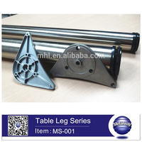 New product factory supply table leg iron used, dining table legs, table leg round