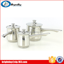 Stainless steel coffee/teapot milk boiling pot