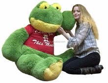 Giant Stuffed Frog 60 Inches Soft 5 Foot Big Plush toy/green color plush toy/plush toy for chirdren
