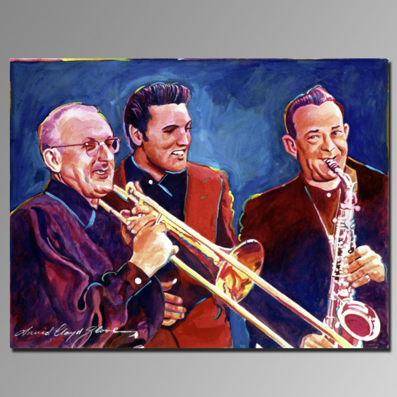 Z(63992) Pure hand-painted high quality Famous People Portrait Paintings On Canvas