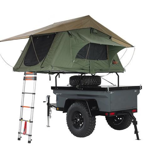 Caravan Camper Trailer With Pop Up Tent Buy Trailer