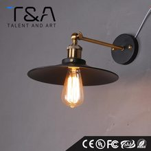 Industrial Vintage Metal Shade Wall Light Wall Lamp Outdoor