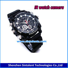 Full HD 1080P Night vision wrist watch video camera Built in 8 GB memory
