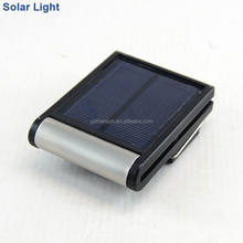 portable solar powered led light with clip and margnet
