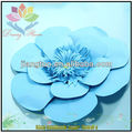 2015 hot selling blue flower of online paper flower florist