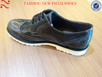 PU new italy design men leather shoes & dress shoes