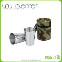 stainless steel wine shot cup 70ML