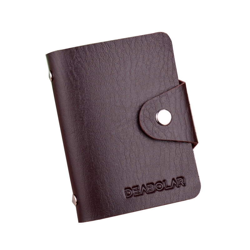 PU designer card <strong>wallet</strong> for woman and man