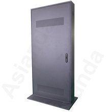 floor standing outdoor lcd advertising display totem touch screen kiosk size 42-72 inch