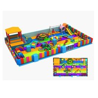 Professional kids indoor soft play center