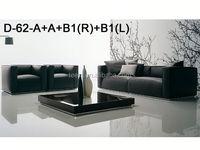 2014 Divany mordern style japanese furniture store le corbusier sofa D-62-A+A+B(R)+B(L)