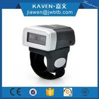 Support Android & IOS system 2d mini bluetooth ring barcode scanner