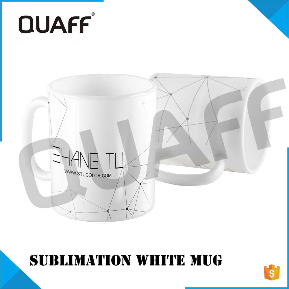 Best selling white mugs Ceramic mug sublimation mug 11 OZ