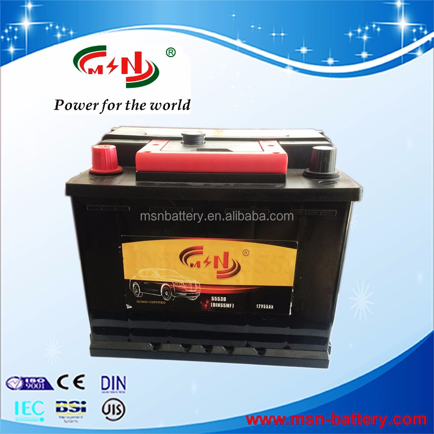 Flood battery EFB technology for vehicle start up