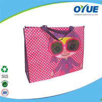 Wholesale new design High quality funny promotional shopping bag