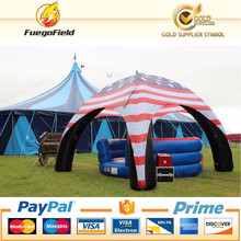 big outdoor amping inflatable air dome tent / Giant X- tent for advertising and event