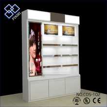 2018 hot selling OEM retail cosmetic cabinet store sale