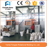 High efficiency pulverizer for plastic granule material