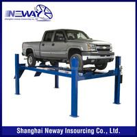 used 9000 lb 4 post car lift for sale