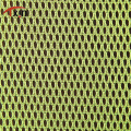 high quality bright color polyester honeycomb mesh fabric for wedding dress and garment