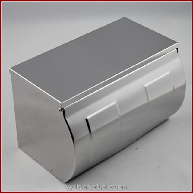 8809 Kitchen Tissue Paper Roll Holder Stainless Steel Tissue Roll Holder Chrome Plated