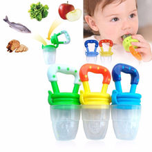 2019 fashion Fresh Food Nibbler Baby Pacifiers Feeder Kids Fruit Feeder Nipples Feeding Safe Baby Supplies Nipple Teat Pacifier