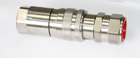 interchange pipe fitting hydraulic quick release coupling 700bar