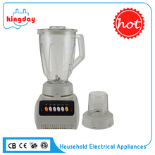 Good quality low noise plastic base 1.5L electric table blender machine