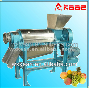 industrial screw type vegetable cold press squeezing machine