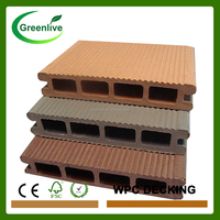 Costa rica wood plastic composite garden decking floor board