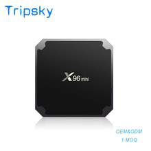 2018 Newest Factory Price Amlogic S905w X96 Mini 1G+8G Smart Android 7.1.2 cheapest Android Tv Box