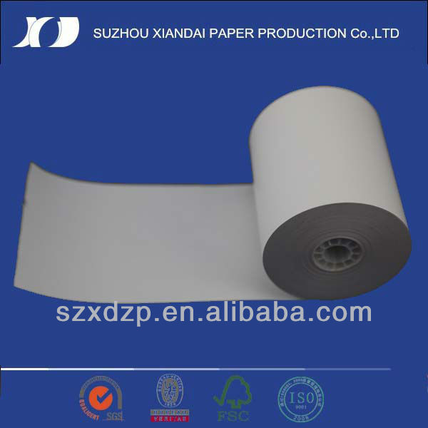 pos terminal thermal coated paper