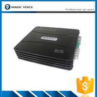 China manufacture professional 1channel 600watts 12v car power amplifier MG-6001