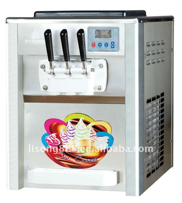 Very popular of 2+1 mixed desktop ice cream maker