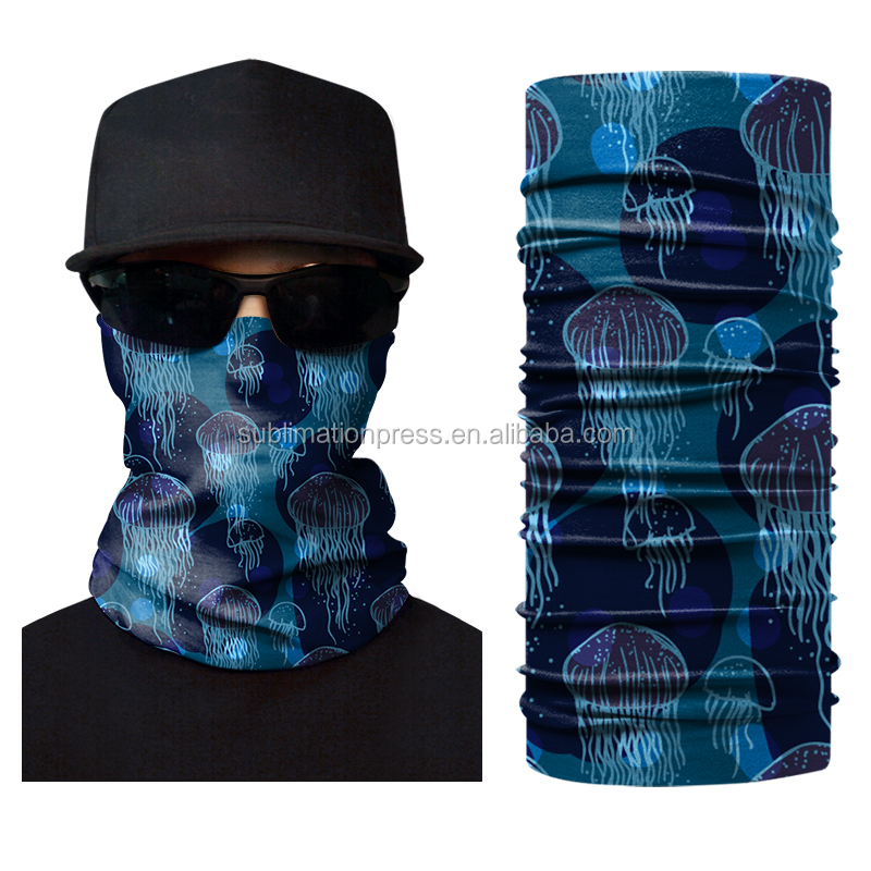 Low MOQ Produce Plain Solid Color Printing Multifunction Paisley Tie Dye Bandana