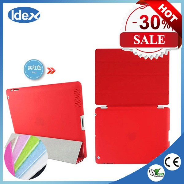 Ultra Thin Slim Light Three Fold Leather Case For apple ipad air 16gb