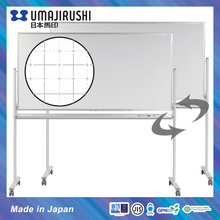 Grid Printing Double Sided Ceramic Magnetic Movable Whiteboard