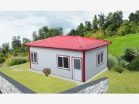 new installation modern eps raw material prefab house