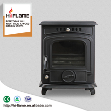 Cheap small smokeless european multi fuel wood stove cast iron for home