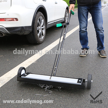 Factory Direct Sale Permanent Industrial Road Street Magnetic Push Broom 24""