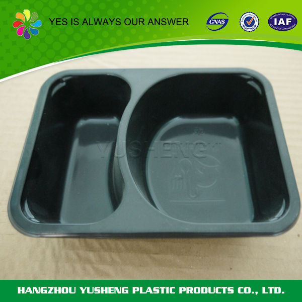 Non-slip biodegradable material PET Food tray