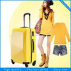 ABS,PC fashion design hardshell trolley luggage set,newest style of business style trolley bag