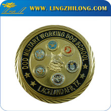 Customized logo american eagle gold coins