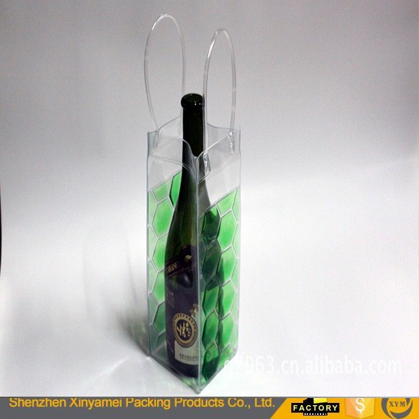 customized waterproof transparent zipper big clear plastic gift bag pvc comforter bag pvc bag
